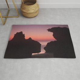 Roche Reefs At Sunset. Rug