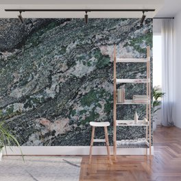 Turquoise Waves Wall Mural