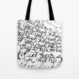 Script Unwind & Relax Tote Bag