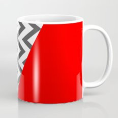 Color Blocked Chevron 10 Mug