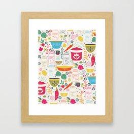 Eat Your Veggies! Framed Art Print