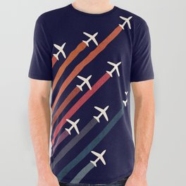 Aerial acrobat All Over Graphic Tee