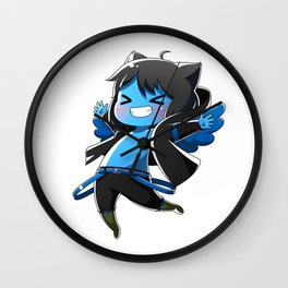 Chibi Luc (Expression 2) Wall Clock
