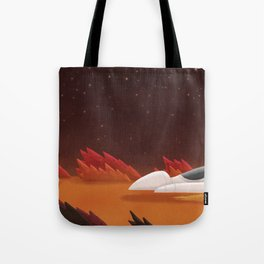 Mars, Off Road Tote Bag