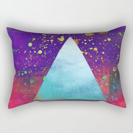 Triangle Composition V Rectangular Pillow