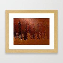 Degradation Framed Art Print
