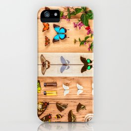 Butterfly Collector iPhone Case
