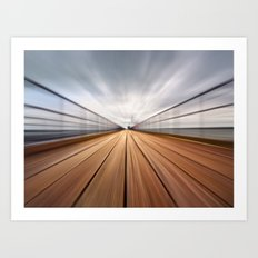 Southend On Sea Pier Art Print
