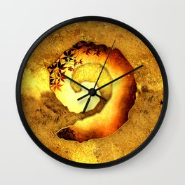 Heartstone tapestry 3 Wall Clock