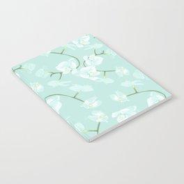 Eternal orchid delicate bloom - blue Notebook