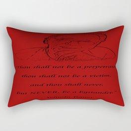 NEVER! Rectangular Pillow