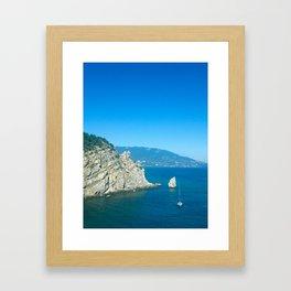 I c THE c Framed Art Print