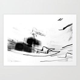 abstract light photography Art Print