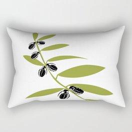 Grenade Olive Leaf - war pigs Rectangular Pillow