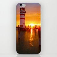 lighthouse iPhone & iPod Skins featuring lighthouse by Photoplace