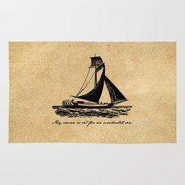 Divine Comedy - Dante Alighieri - Uncharted Sea Rug