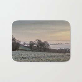 January Sunrise Bath Mat