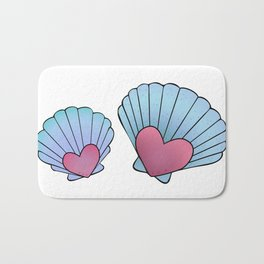 Seashell 💗 Bath Mat