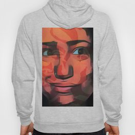 Smile camouflages the scars Hoody