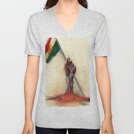kurdistan Unisex V-Neck