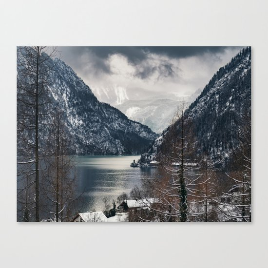 Winter Landscape #photography #sky Canvas Print