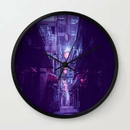 Tokyo Nights / One More Light / Liam Wong Wall Clock
