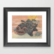 Vuelo Framed Art Print