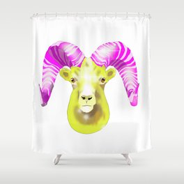 Aries Ram Shower Curtain