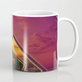 Bridge of a Thousand Colors, a Beautiful Rainbow Fractalscape Coffee Mug