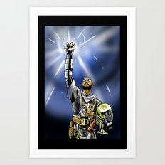 Tim Duncan, Lord of the Rings Art Print