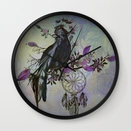 Keeper of Dreams Wall Clock