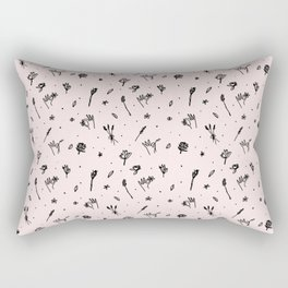 Spring Picking (rose) Rectangular Pillow