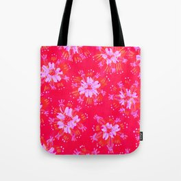 Red Golden Autumn Tote Bag