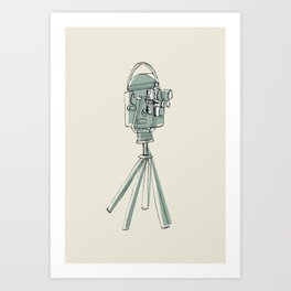 Cinecamera Art Print