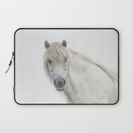 Horse eyes look at you Laptop Sleeve