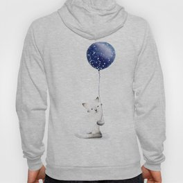 Cat With Balloon Hoody