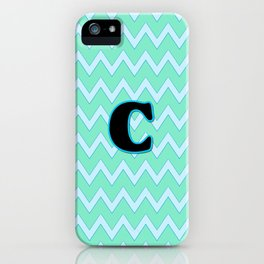 Letter C iPhone Case