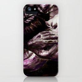Hesitation iPhone Case
