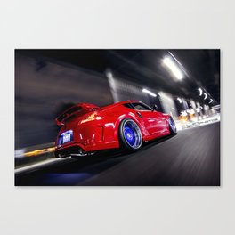 Nismo Z34-Strasse Forged Canvas Print