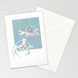 Weird & Wonderful: Crab Circus Stationery Cards