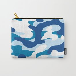 Blue Camo Carry-All Pouch