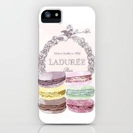 French Macaroon, Kitchen Art, Pastel iPhone Case