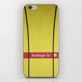 Munich U-Bahn Memories - Sendlinger Tor iPhone Skin
