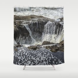 Thor's Well, No. 3 Shower Curtain
