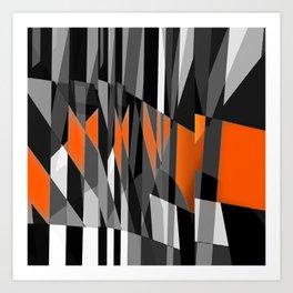 oppositions. 3a Art Print