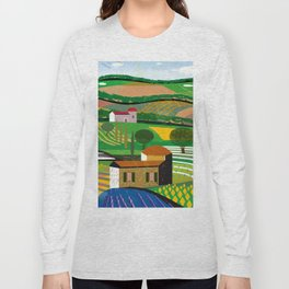 Green Fields Long Sleeve T-shirt