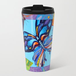 Butteflies are Free to Fly Travel Mug