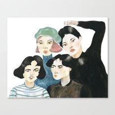 seoul Canvas Print