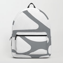 Unique gray and white organic design Backpack