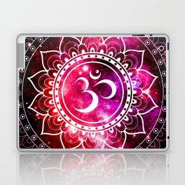 Ohm Mandala : Galaxy Mandala Red Fuchsia Pink Laptop & iPad Skin